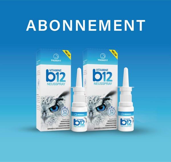 Abonnement – 3 á 4 sprays wekelijks betekent elke 6 maanden een neusspray en dus zoals de afgebeeld laat zien elke jaar twee neussprays.