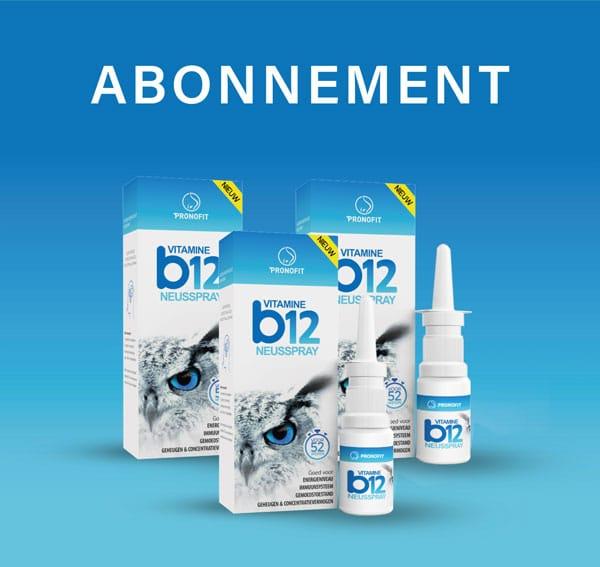 Abonnement – 5 á 6 sprays wekelijks betekent elke 4 maanden een neusspray en dus zoals de afgebeeld laat zien elke jaar drie neussprays.